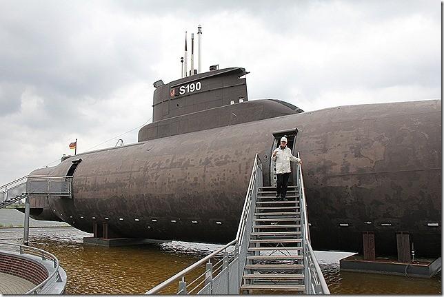 Ausflug zum U-Boot Museum Fehmarn! Für Hunde laaaaaangweilig! ;-)