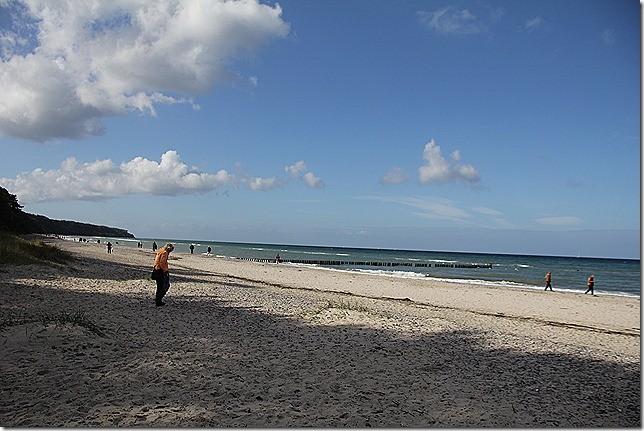 Ausflug zum Strand von Warnemünde