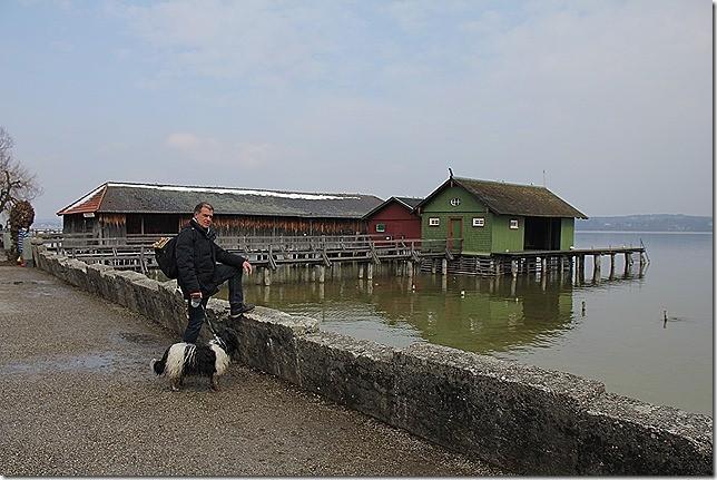 """""""Vatter"""" und Willma am Ammersee  ;-)"""