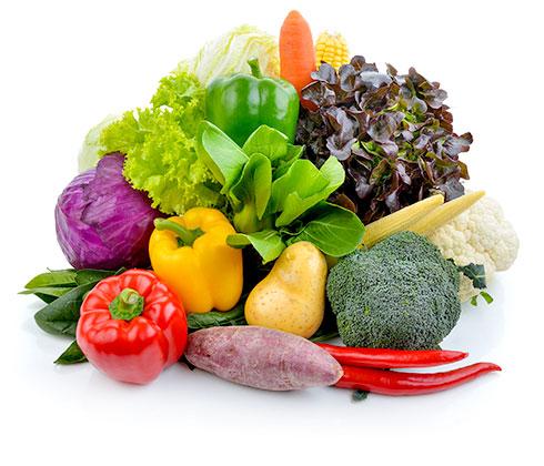 食材5色バランス健康法®について:野菜の写真