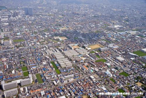 長吉六反東地域活動協議会 航空写真