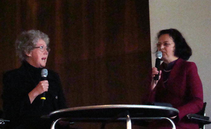 Künstlergespräch mit Catarina Ligendza Deutsche Oper Berlin (17.10.2010)