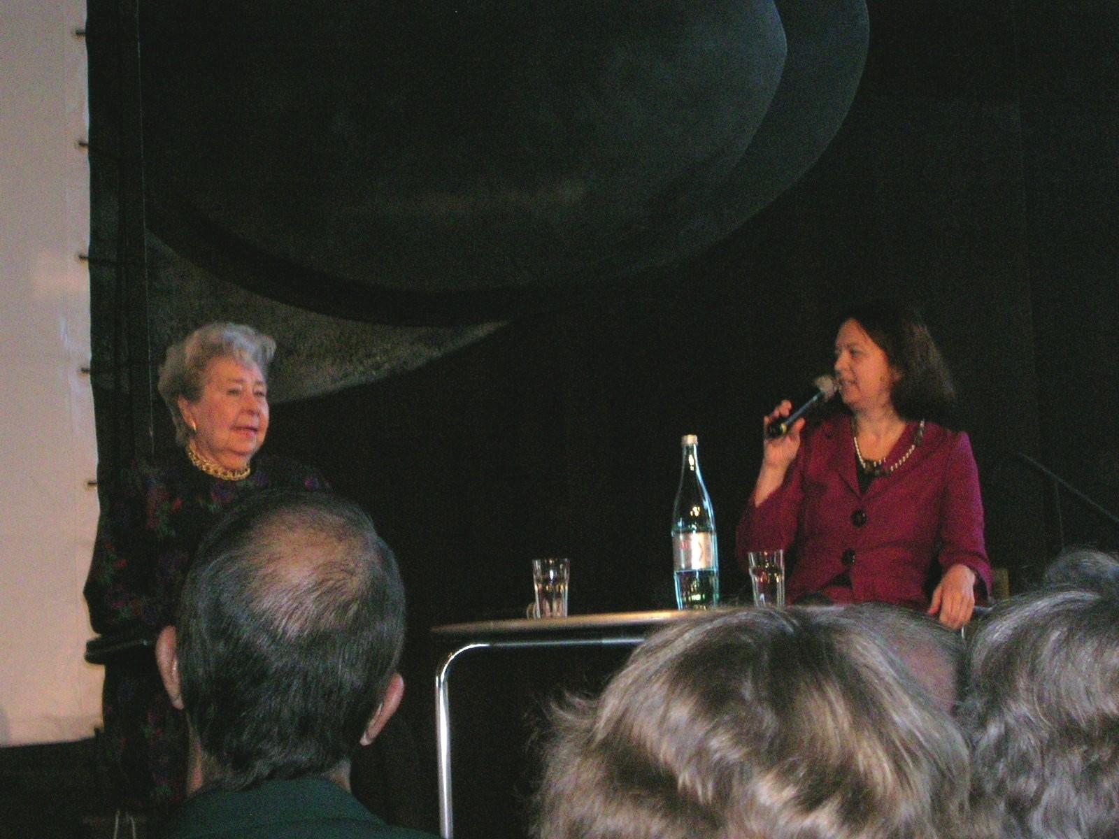 Künstlergespräch mit Christa Ludwig in der Deutschen Oper Berlin  (15.9.2009)