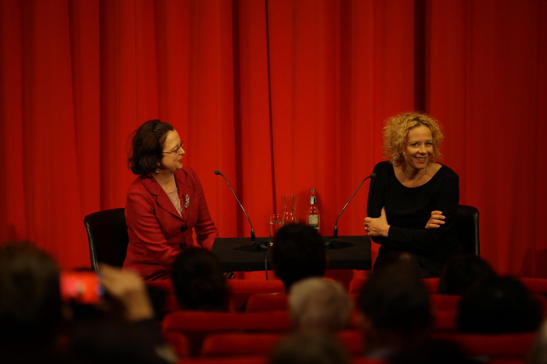 Ein Abend mit Katja Riemann im Deutschen Filmmuseum (26.11.2015) Foto: DIF/Sophie Schüler
