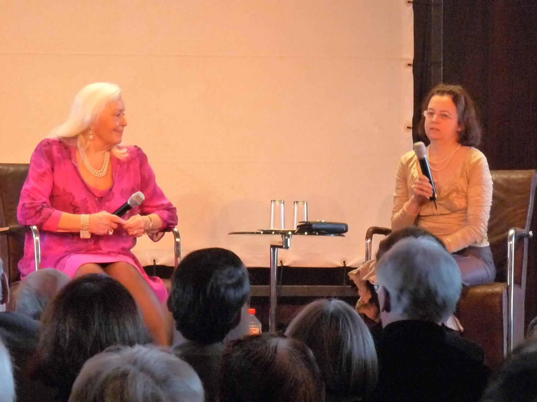 Künstlergespräch mit Dame Gwyneth Jones in der Deutschen Oper Berlin (28.22.2010)