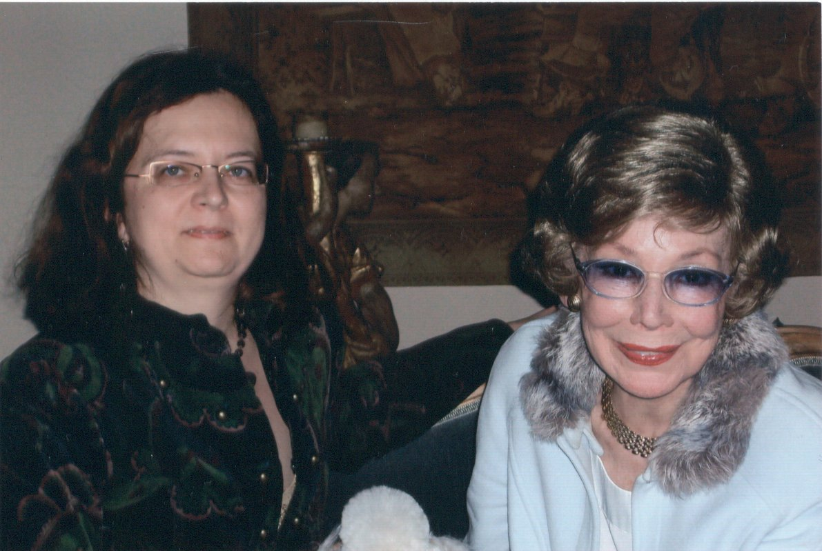 Mit Anneliese Rothenberger 2007
