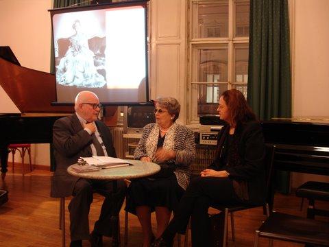 Präsentation des Schwarzkopf-Buches in der Gesellschaft für Musik Wien (2007)