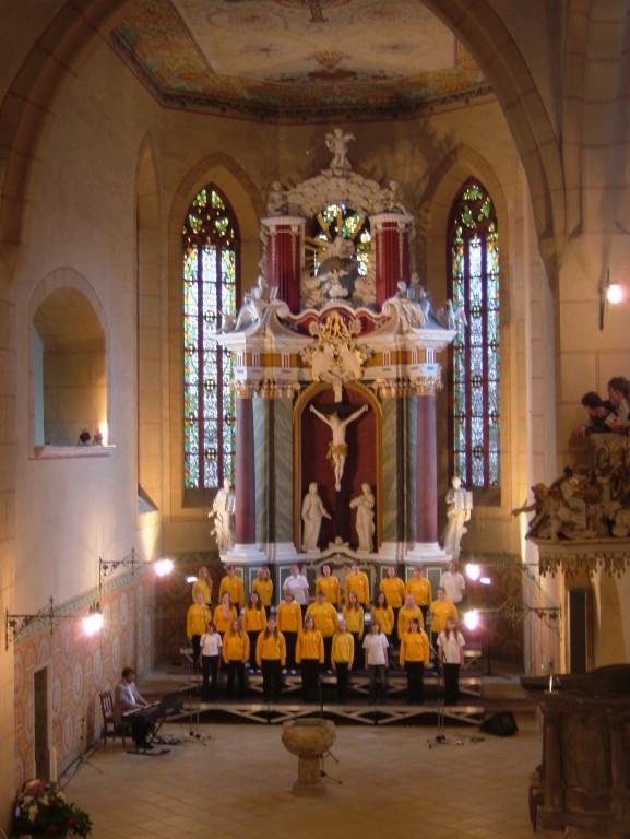 Auftritt Burg Querfurt 2007