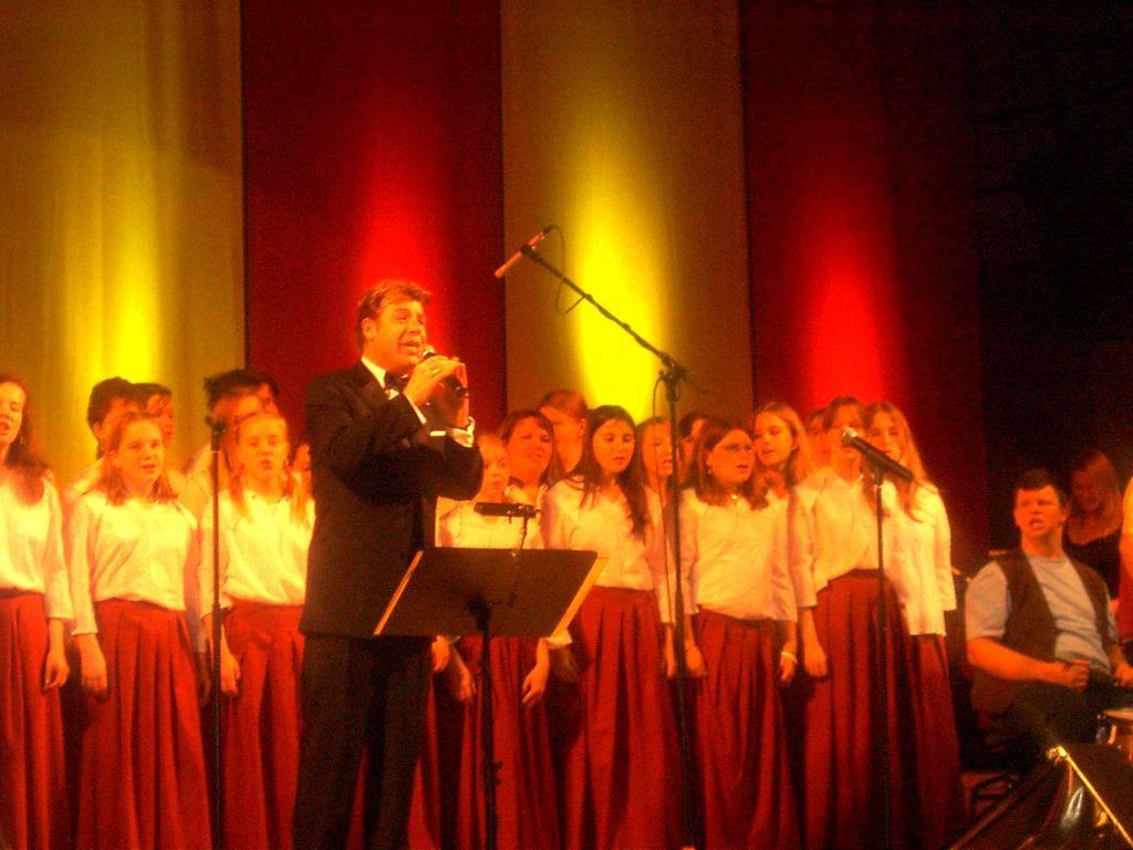Auftritt mit Patrick Lindner 2005