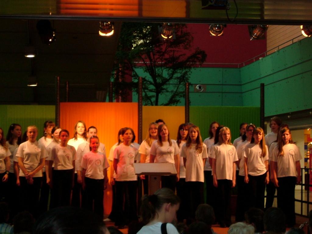 Auftritt im Neustadt Centrum 2007
