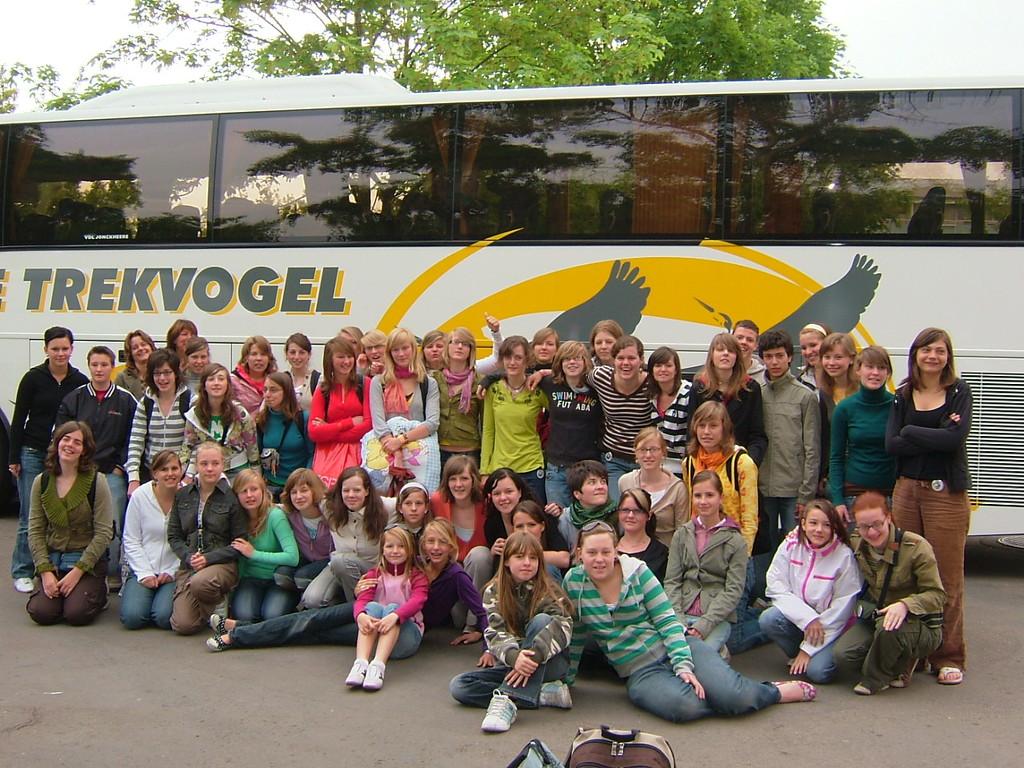 Abschiedsfoto mit den Belgiern 2007