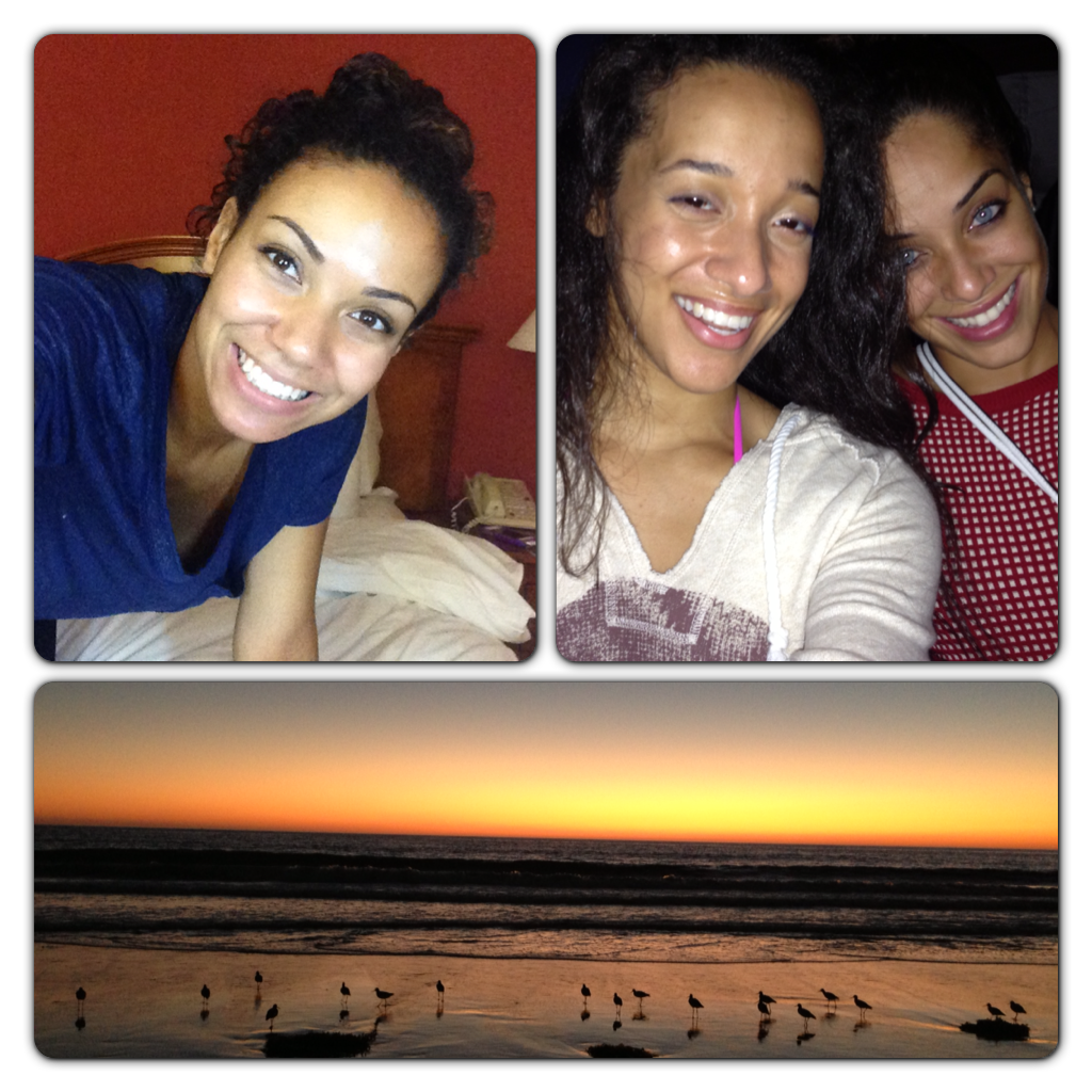 Fun night on the beach with Lauren and Leticia