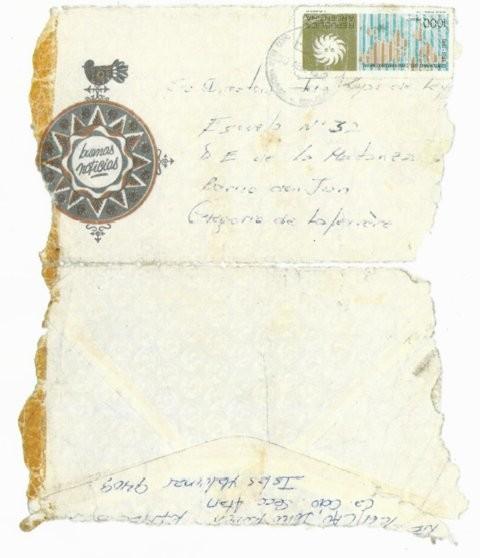 El sobre de aquella carta