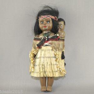 De Oceanía nos llega esta muñeca mahorí.