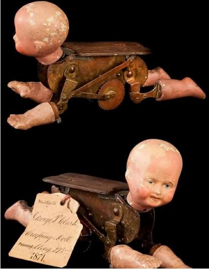 Gateadora mecánica del año 1871.