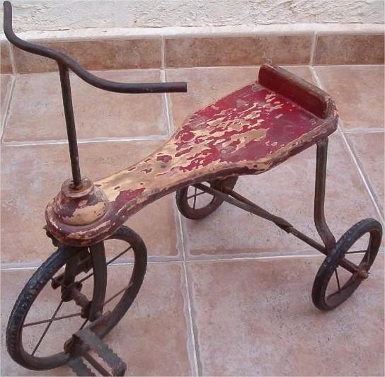 Así eran los triciclos de los años 30