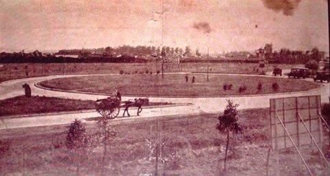 Rotonda de San Justo, año 1940