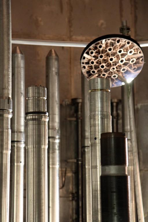 Blick in den Reaktordruckbehälter