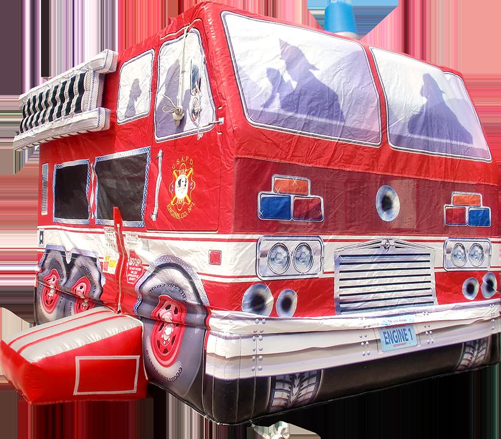 消防車バウンス
