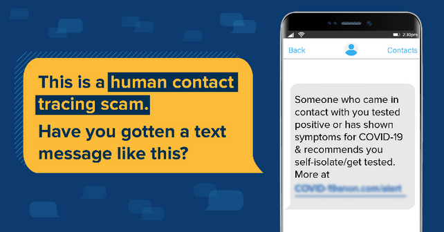 MobileIron Human Contact Tracing Scam