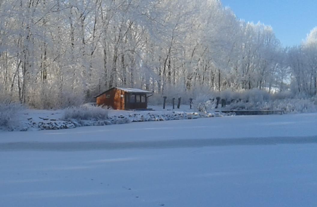 Im Winter vom Eis aus.