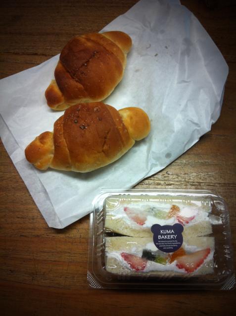 塩パン好きですけど、この塩パンは特にうまかった! フルーツサンドも◎な味でしたよ♪ 濱田さんありがとうございました。