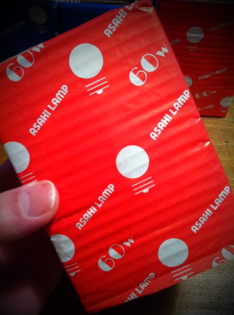 パッケージがツボすぎてw ええわ~♪ *この箱(赤と青一個づつ)保存してます!w 自分でもようわかんないけど捨てちゃダメな気がしてw