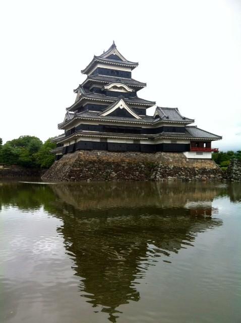 松本城♪ 黒くてカッコいい♡