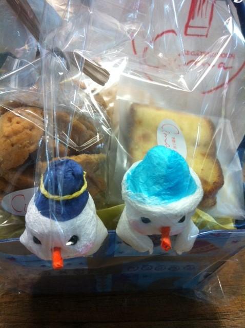 毎年クリスマスクッキーを頂いてるような、、、安波さん感謝しています、ありがとうございました♪