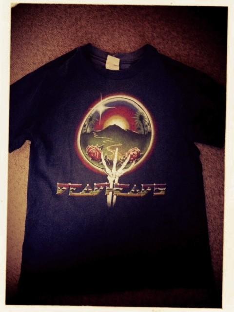 グレートフルデッドのTシャツです。 バンドTですね。 音楽好きですがバンドTはグレートフルデッドのみ6枚くらいかな? 久しぶりに着ています。