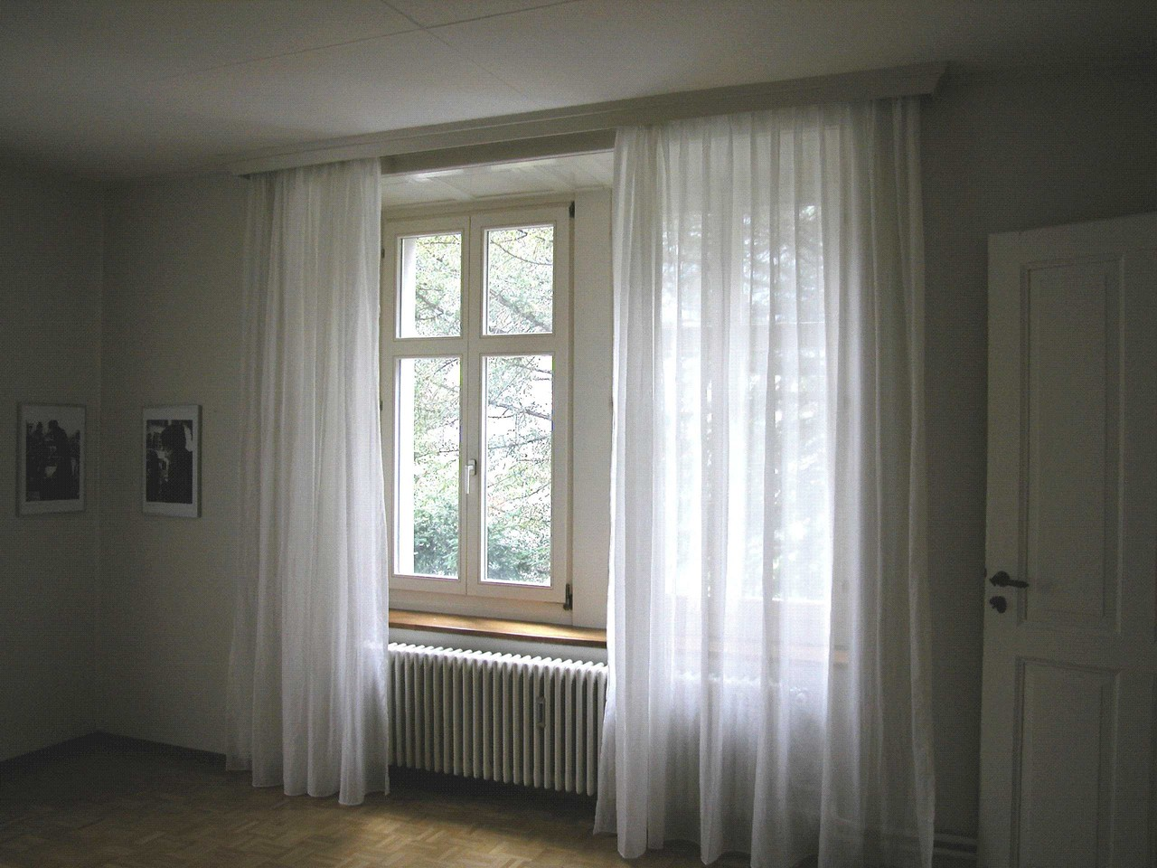 Curtains from Swiss Shield Shielding Fabric