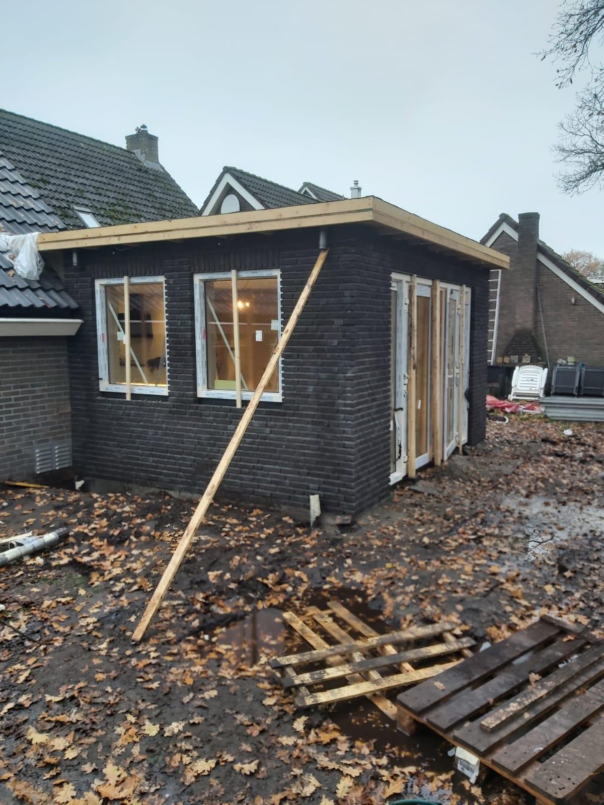 Aanbouw Fluitenberg