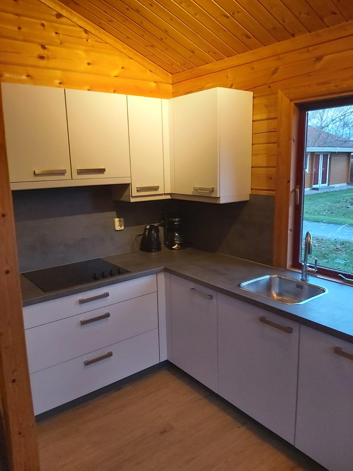 Keuken - houten huisje