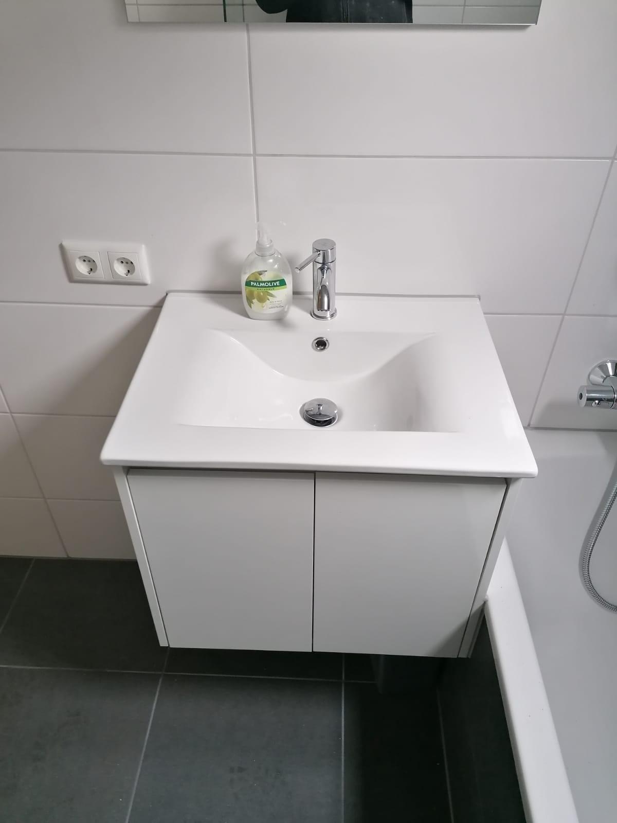Badkamer - stenen huisje