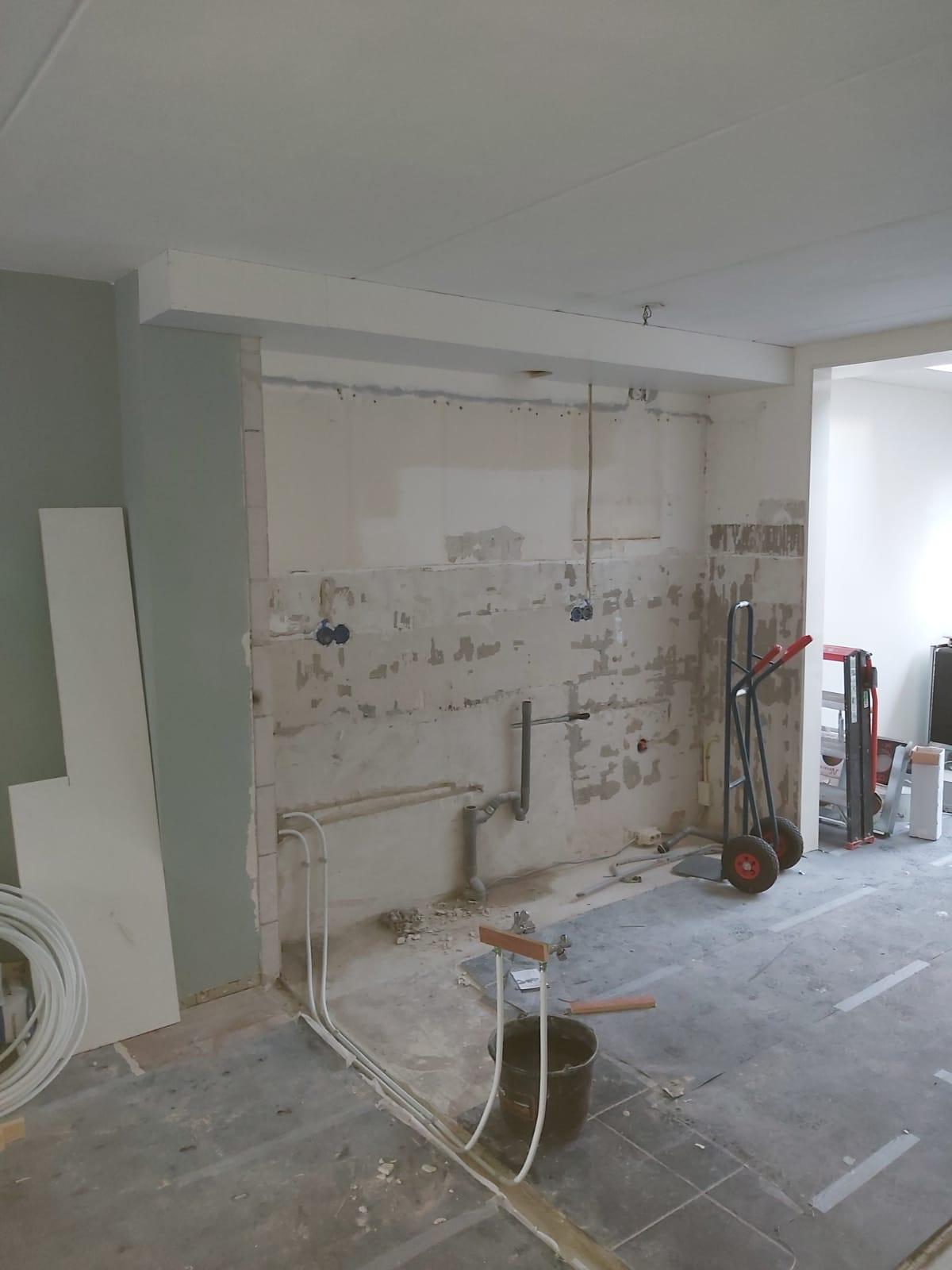 Installatiewerk - keuken & eiland