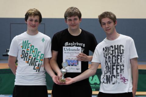 von links: Christopher Belger, Michael Mallin, Lukas Breitenstein