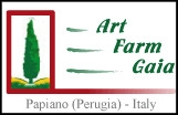 art farm gaia, umbria