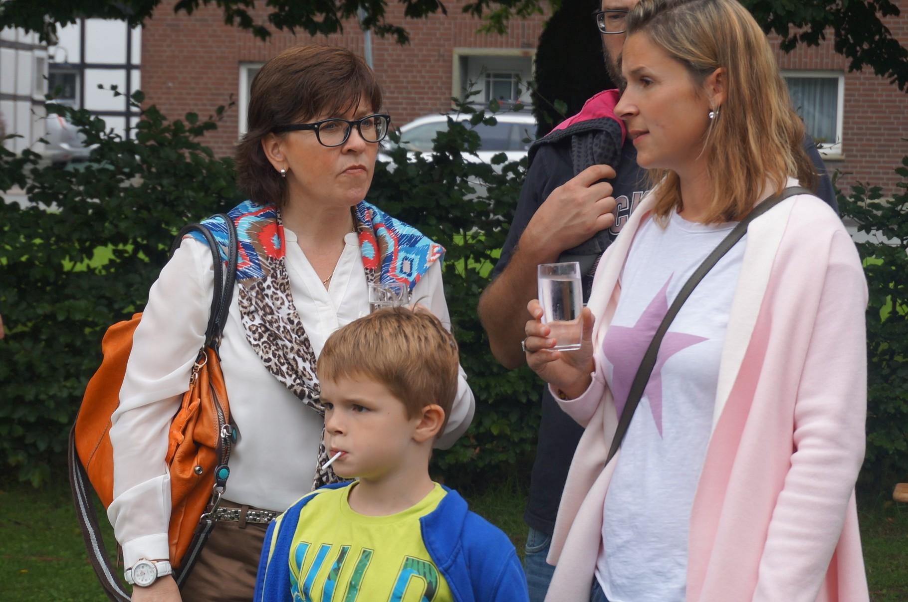Trainerinnen Annette Schwertheim und Clarissa Studinski
