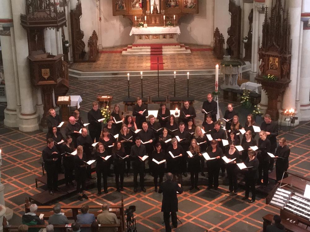 Vocalensemble Erwitte unter der Leitung von Bernd Hense bei der Geistlichen Abendmusik am 4. Sonntag der Osterzeit (22.04.2018 - 17 Uhr)