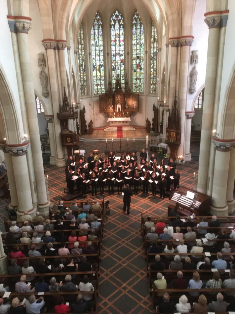Vocalensemble Erwitte bei der Geistlichen Abendmusik am 4. Sonntag der Osterzeit