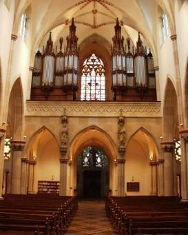 Die Orgel, Foto: M. Schomacher