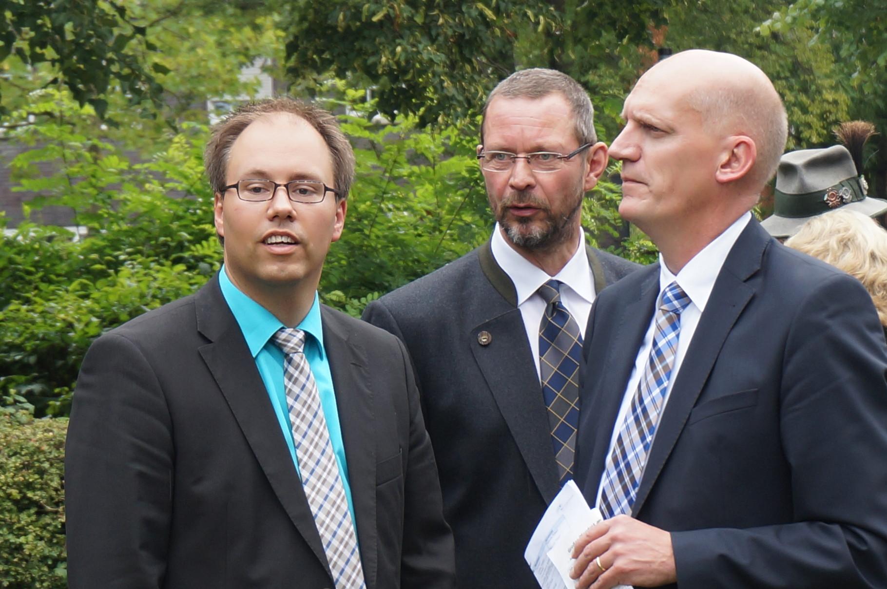 Jörg Bücker, Friedrich-August Graf von Plettenberg und Markus Goldstein