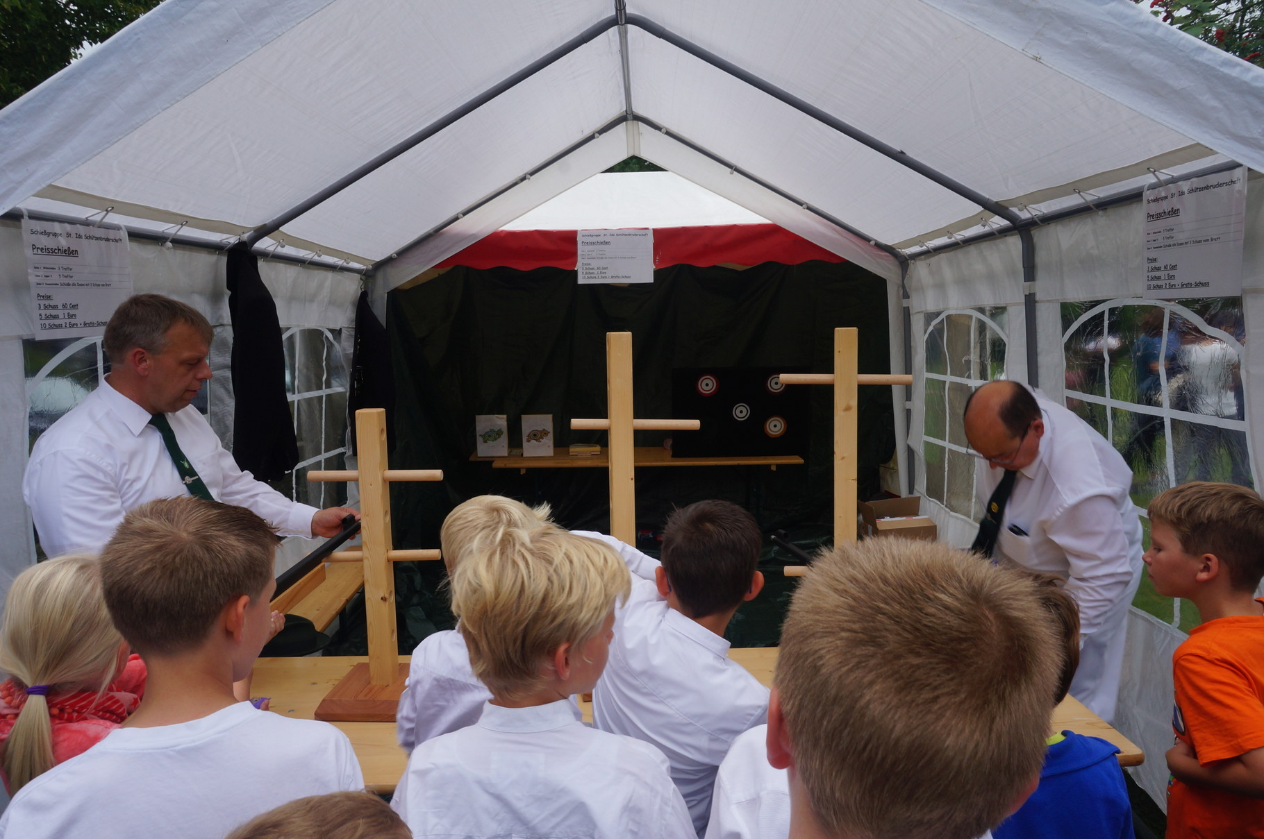 Kinder-Schießstand der St. Ida Schützenbruderschaft