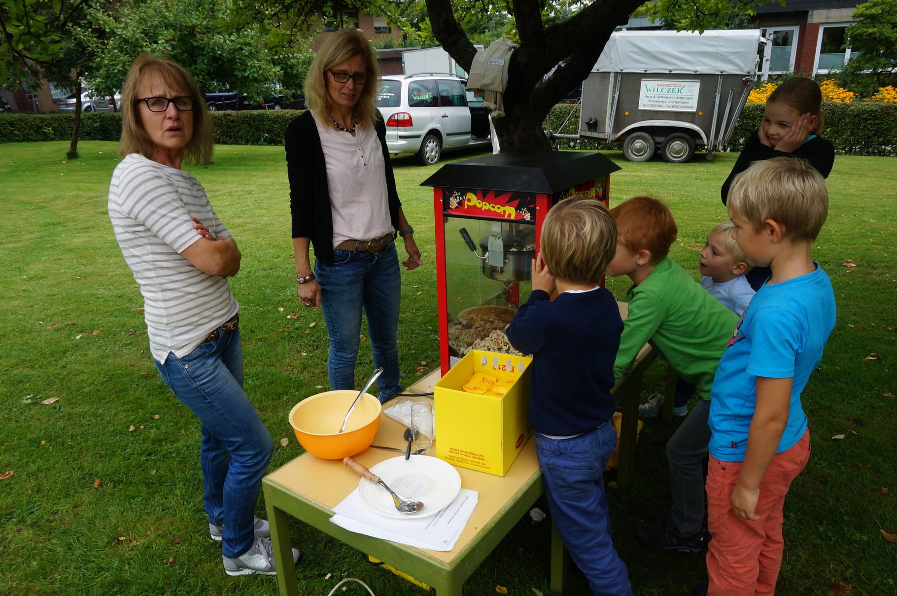Angebote der Kindergärten - Popkorn