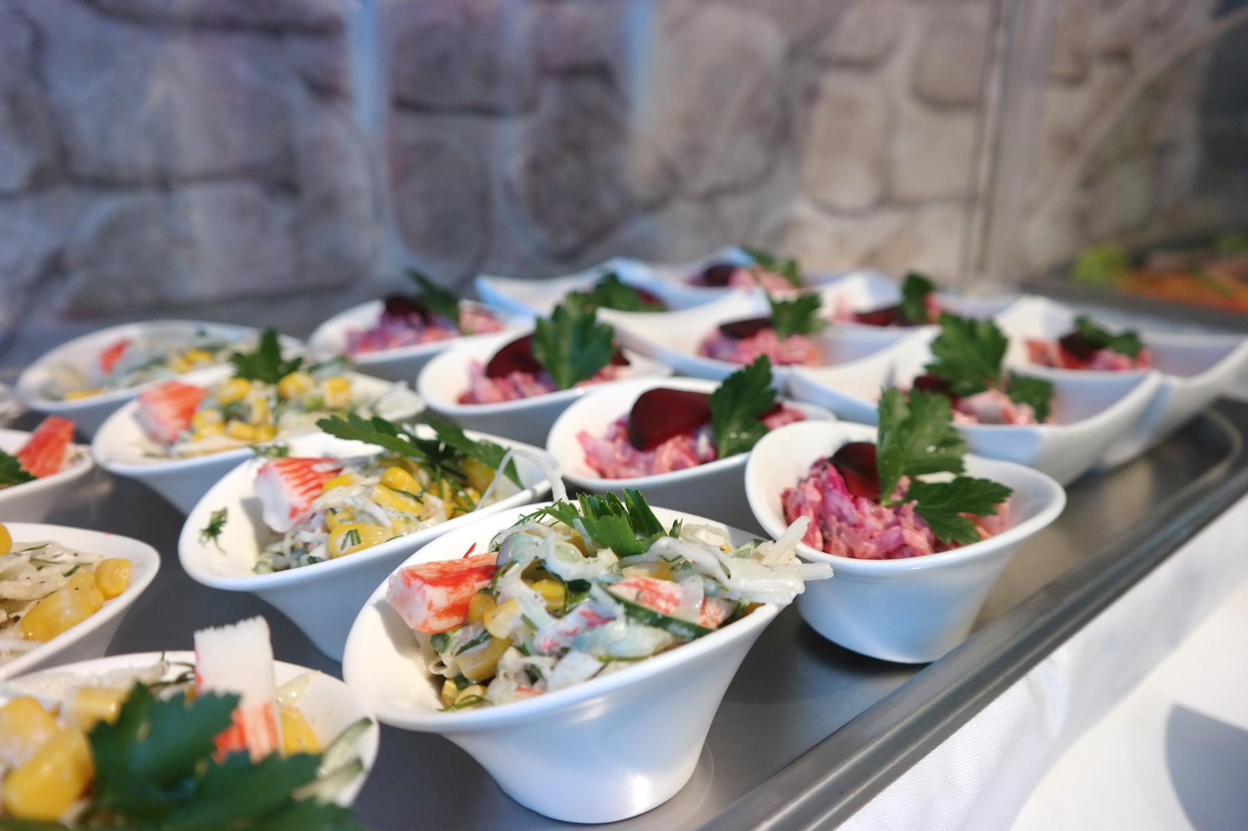 Frühlingssalat & Heringsalat