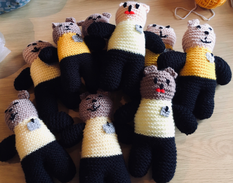 The knitted police