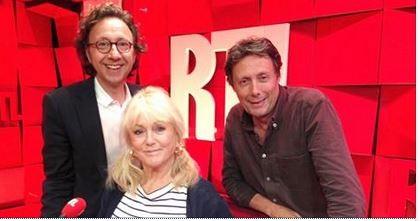 Mylène Demongeot en promotion chez Stéphane Bern (RTL)