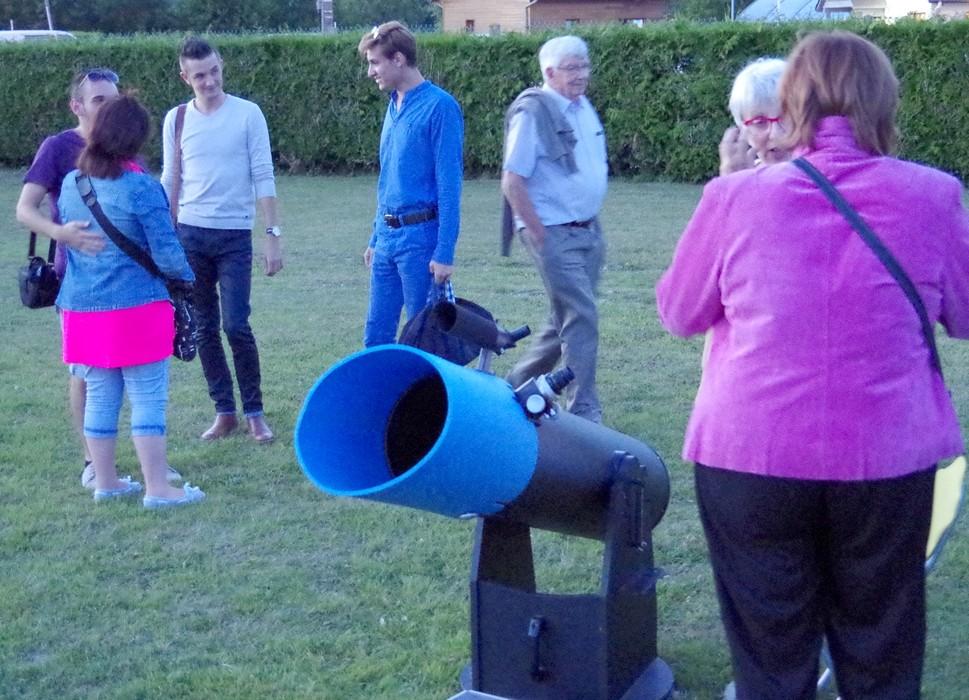 Observations à partir d'un dobson 250 mm
