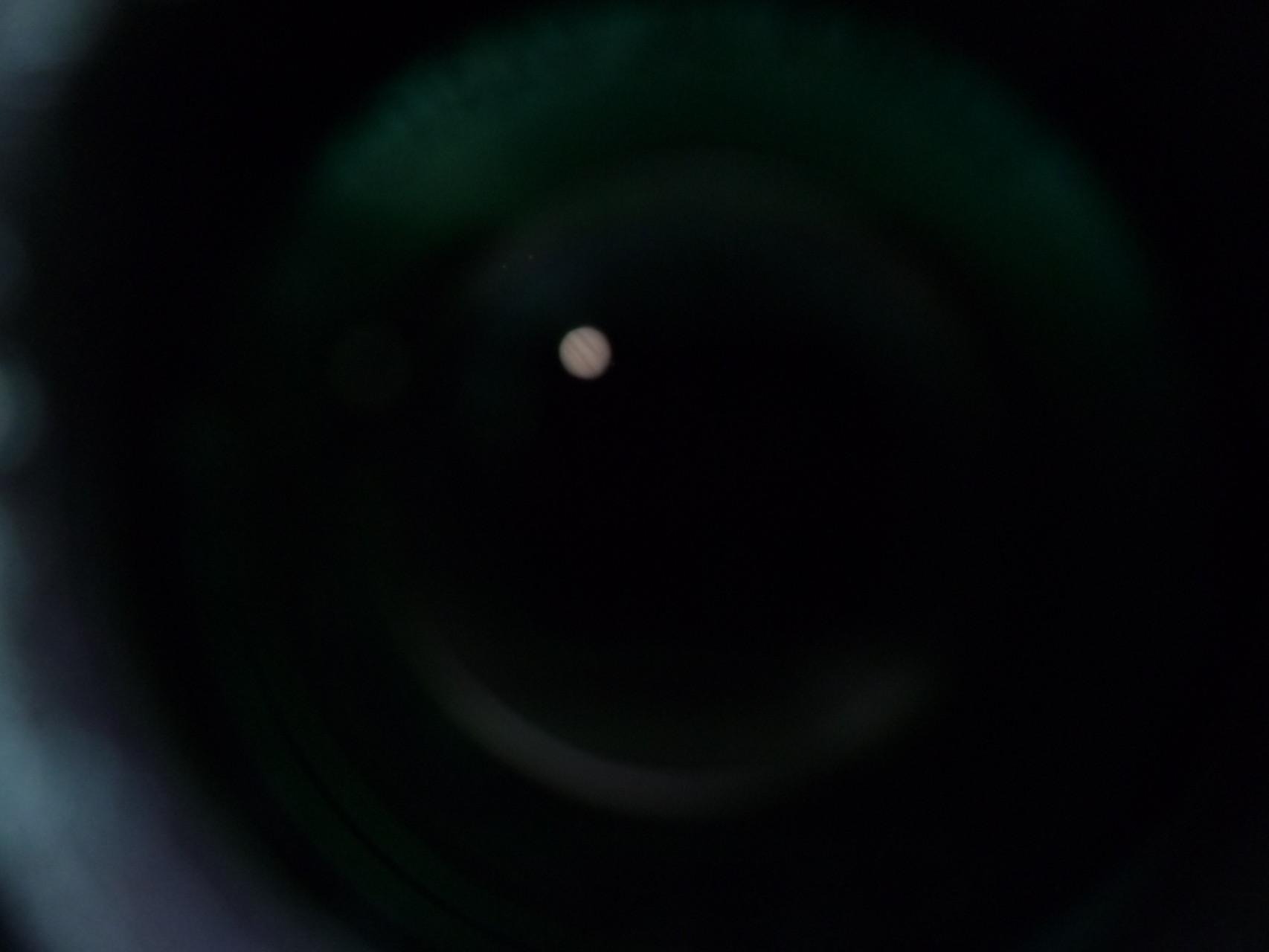 Jupiter prise à main levée avec APN à l'oculaire - 13 février 2013