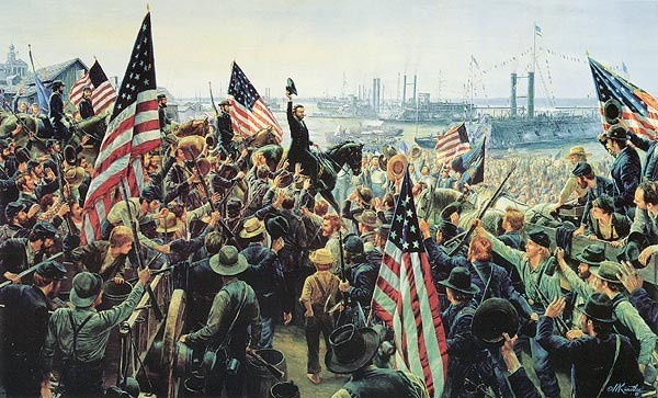 Siege of Vicksburg ( Slag bij Vicksburg )